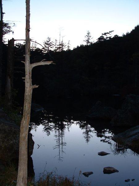 092日落之後的明神池
