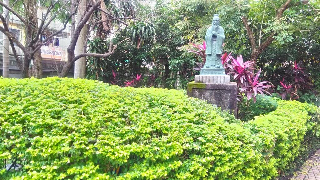 延平國小-孔子銅像1961.jpg