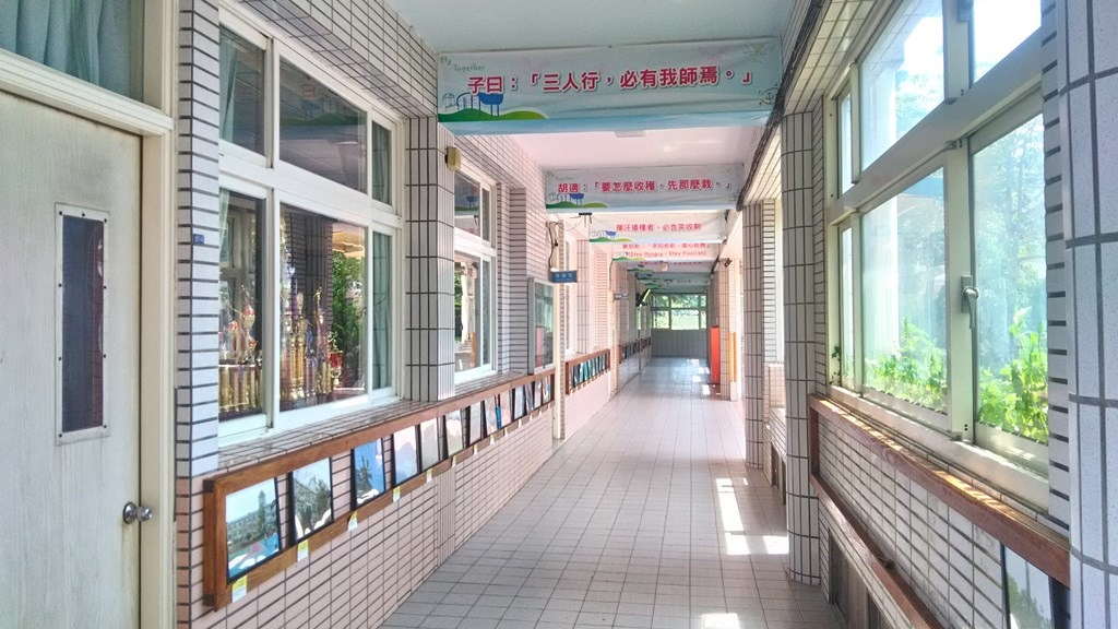 屯山國小-校舍走廊裝飾.jpg