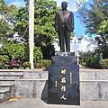 淡江大學9-創辦人父親張驚聲銅像.jpg