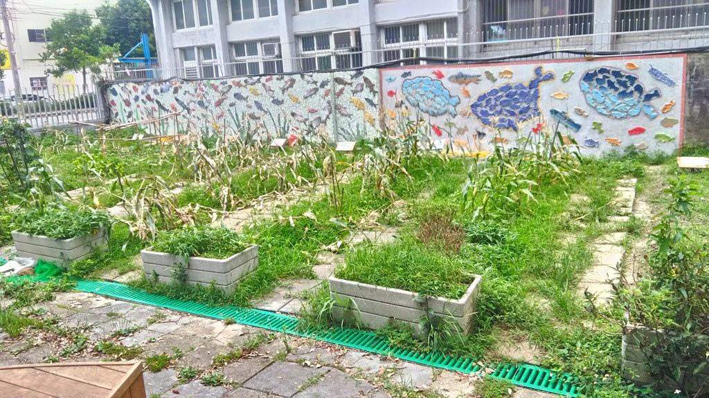 石門國小13-菜園圍墻陶片裝飾.jpg