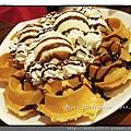 冰淇淋鮮奶油鬆餅 $138