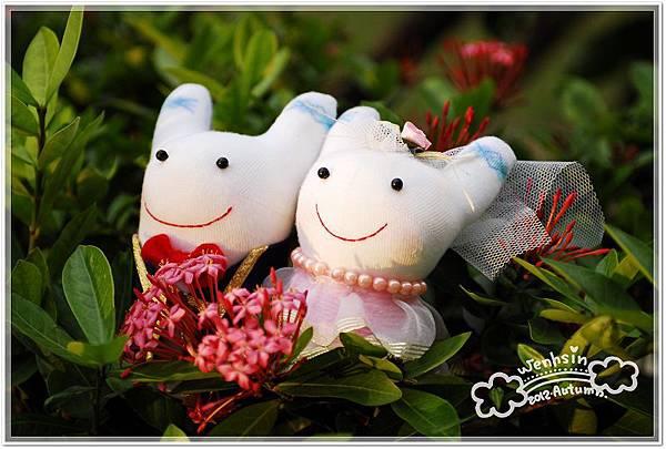 襪娃-婚禮兔小娃