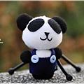 襪娃-雅痞熊貓