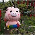 夏日粉紅豬