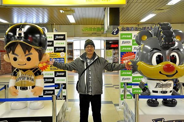 日本職棒吉祥物,不知是哪兩隊
