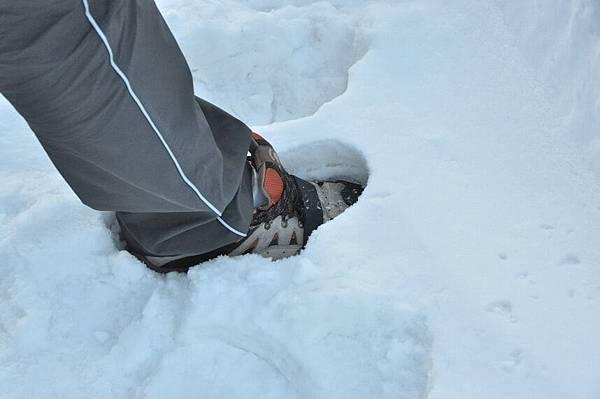 這裡的雪花冰是用來踩的