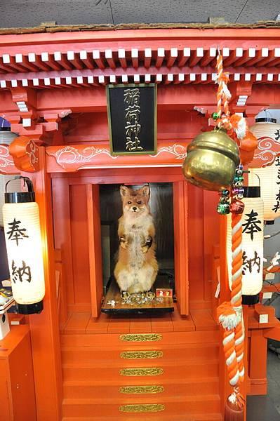 狐狸神社....有點陽春
