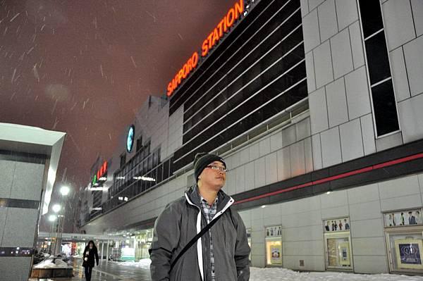JR札幌站北邊出口外