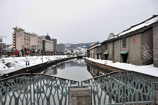 有名的小樽運河