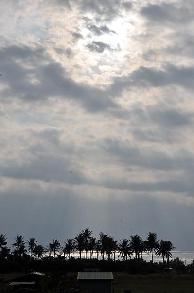 第二天天氣好,補拍日出(9點多..)