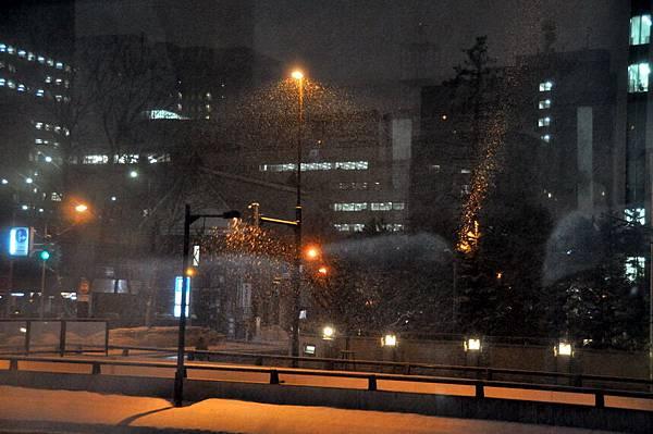 札幌市又在下雪了
