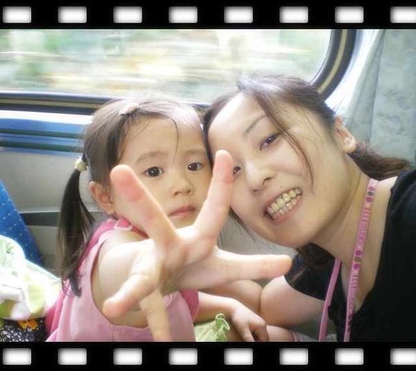 我與媽咪火車上2.jpg