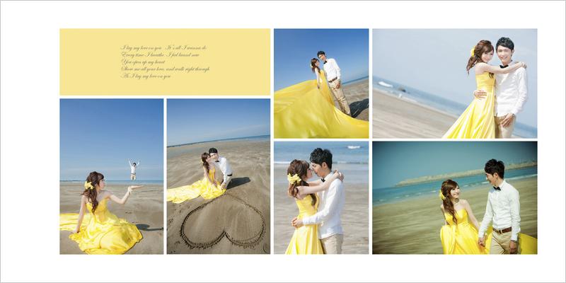 婚紗相本內頁P5