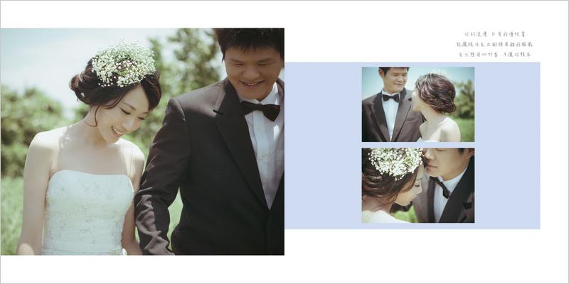 婚紗相本內頁P12
