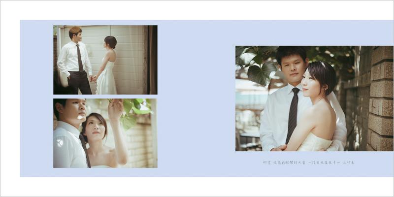 婚紗相本內頁P3