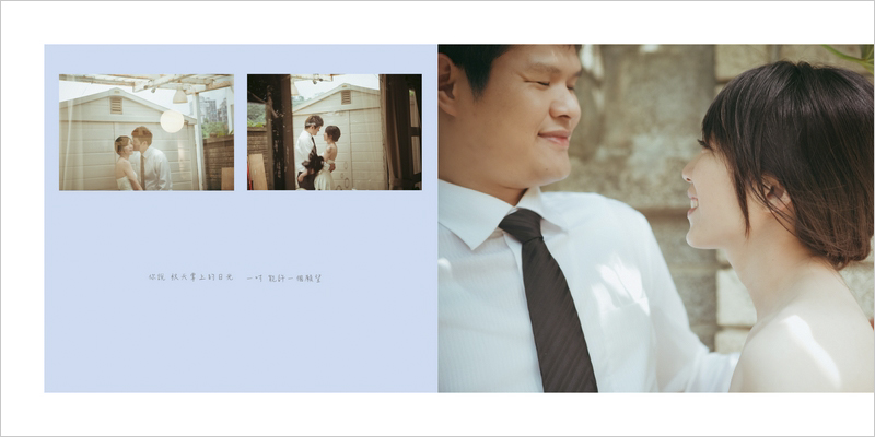 婚紗相本內頁P4