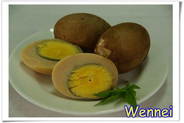 好吃的茶葉鴨蛋