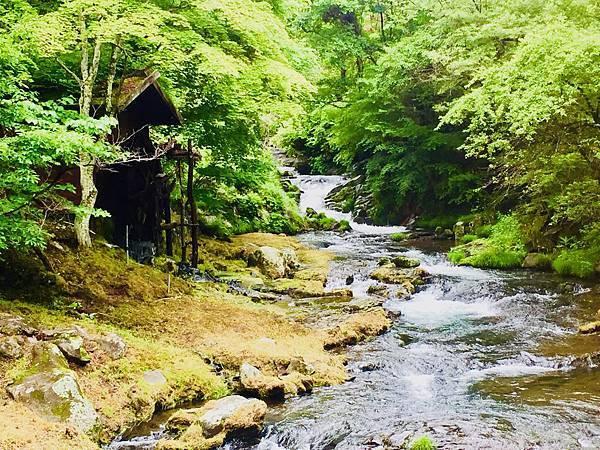 長野蓼科。滝の湯