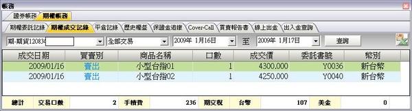 20090116交易