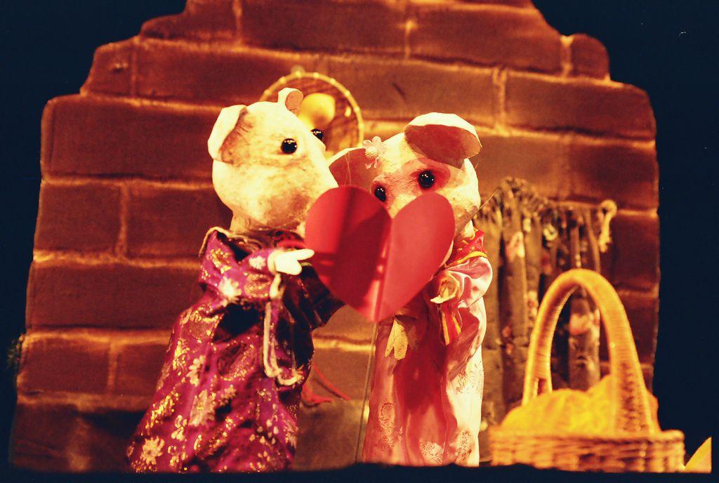 老鼠娶親偶戲劇照 (3)