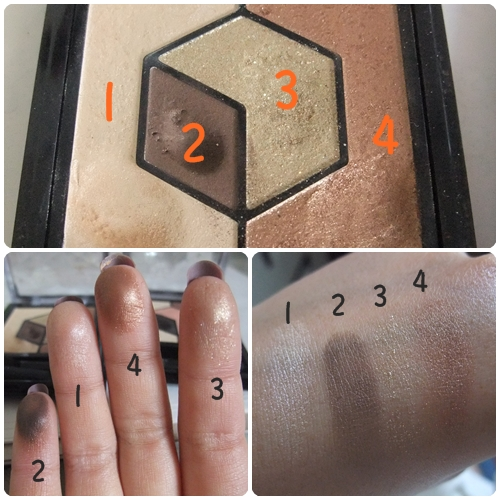 integrate  黑瞳晶綻眼影盒