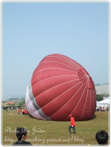 台南。走馬瀨熱氣球