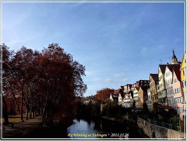 Neckar River, Tübingen, German