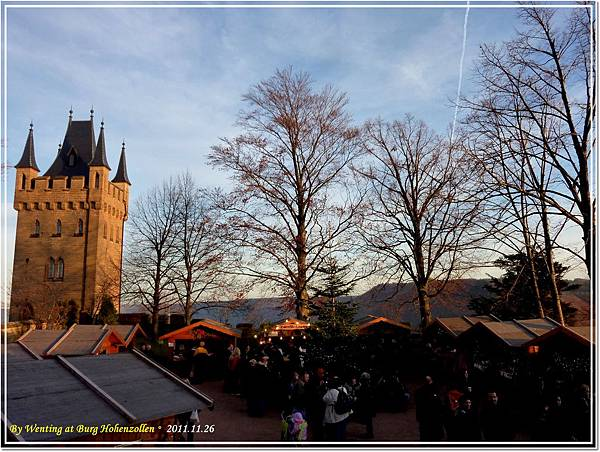 Royal Christmas Market, Hohenzollen Castle