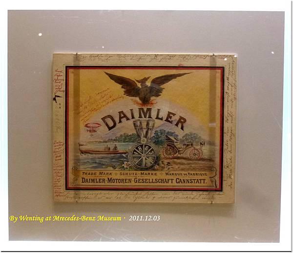 1902 Maimler-Motoren-Gesellcshaft Trademark