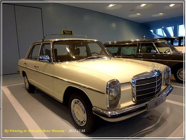1975 Mercedes-Benz 240 D Taxi