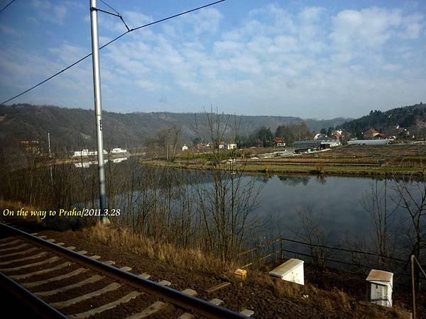 德國>捷克的火車