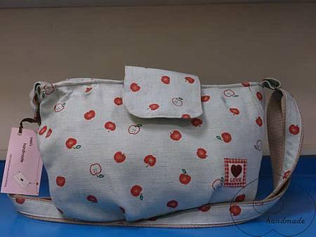 青蘋果側背包