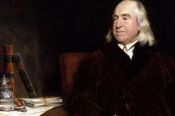 圖為英儒邊沁~傑尼米•邊沁(Jeremy Bentham)是功利主義的創始人
