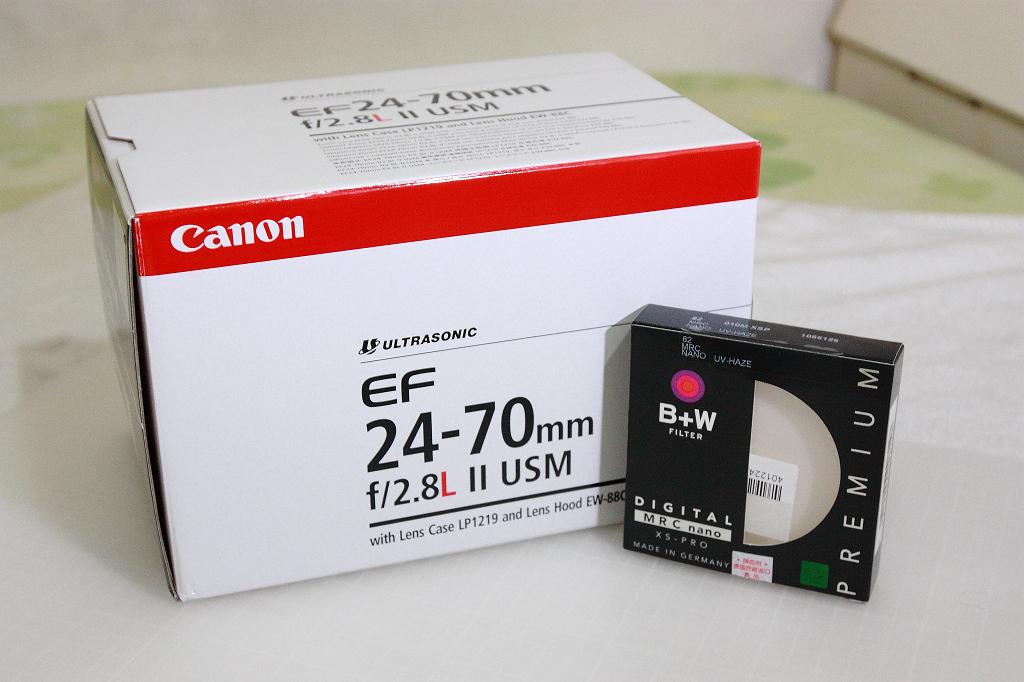 20130124 canon 24-70 II開箱 (1)