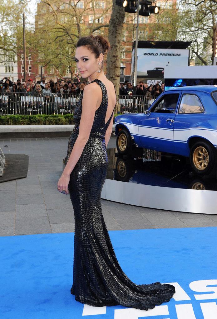 Gal Gadot -Fast & Furious 6 UK Premiere -07.05.2013-05