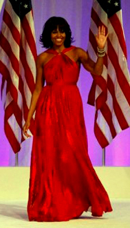 Michelle-Obama-Red-Dress