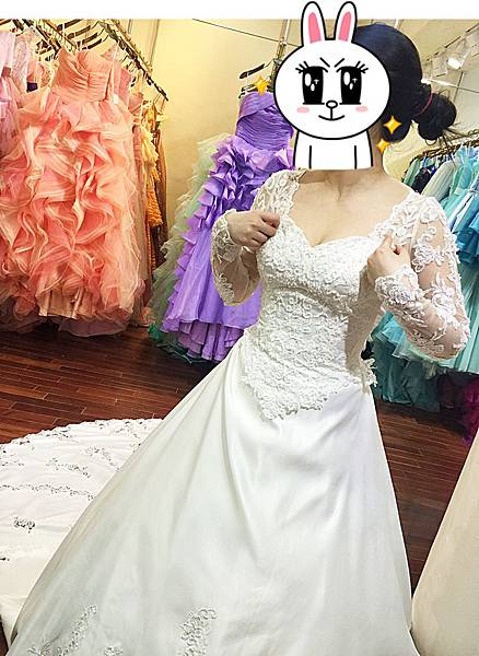 挑婚紗全紀錄