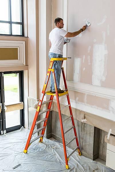 取代鷹架 平台梯 好用梯子推薦 P170 耐用梯子