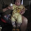 090120-小饅頭試姑姑送的新鞋