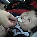 090214-第一次吃餅干