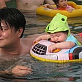 090317-游泳游到睡著