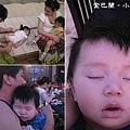 090320-累攤在金巴蘭的小人兒