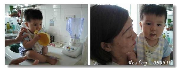 090510-小饅頭與奶奶
