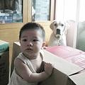 090807-饅頭&妞妞