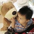 090905-熊熊,你要吃餅餅嗎?