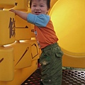 091108-饅頭喜歡溜滑梯.JPG