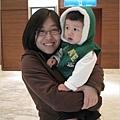 091129-姑姑愛小饅頭.JPG