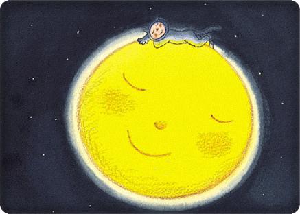 幾米─棲息在月亮.bmp