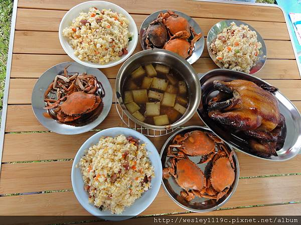 「桶仔雞 & 秋蟹」享宴
